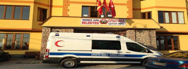 Медицинска помош од Турција за Северна Македонија